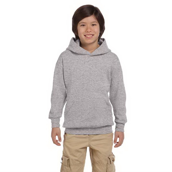 Hanes (r) - Heathers - Youth Pullover Hooded Sweat Shirt, 7.8 Oz Photo