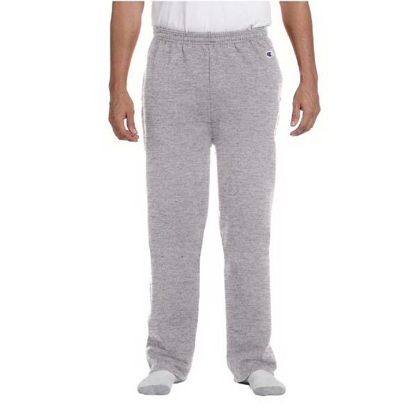 9 oz, 50/50 open-bottom pants