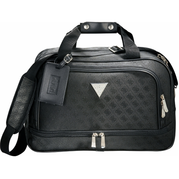 Guess (r) - Signature Travel Compu-tote With Zippered Main Compartment Photo