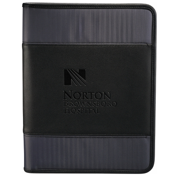 Cutter & Buck (r) - Zippered Padfolio With Zippered Closure, Padded Pocket Photo