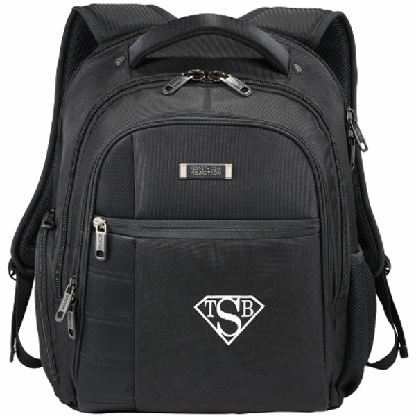 Kenneth Cole (r) - Compu-backpack With Dedicated Laptop Section Photo