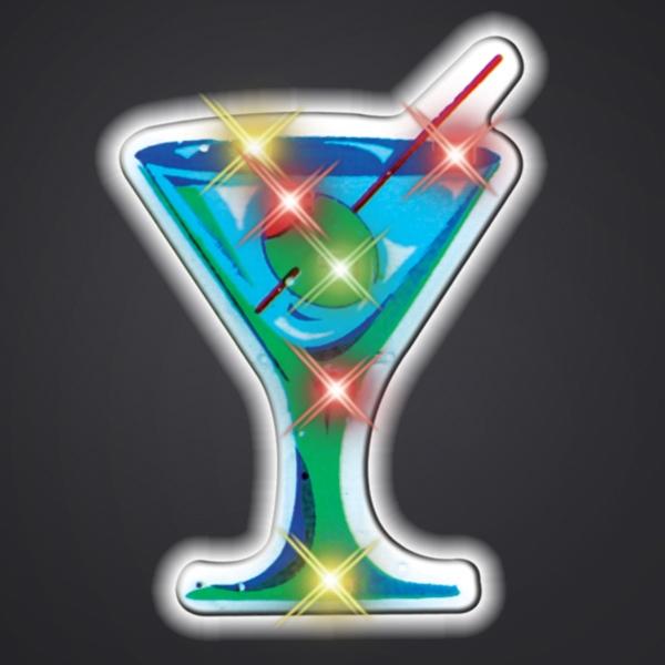 Happy Hour Martini Light Pin