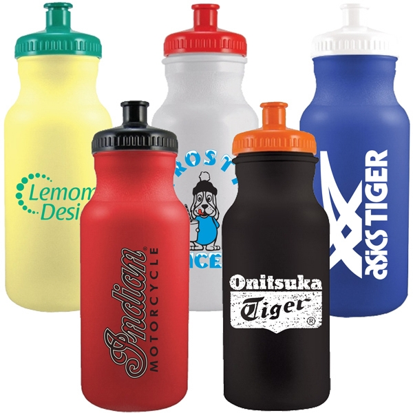 20 Oz Colored Sports Bike Bottle Photo