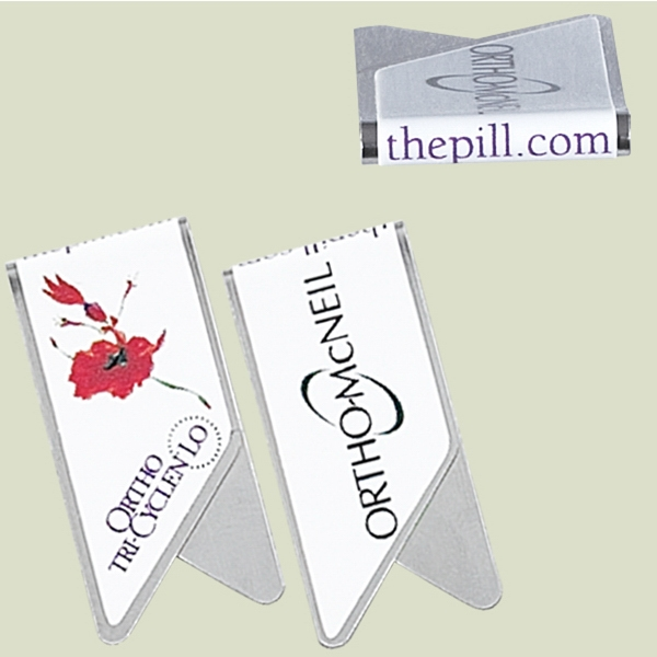 Keepaklip - Eco Friendly Metal Paper Clips With Full Color, Full Wrap Logo Photo