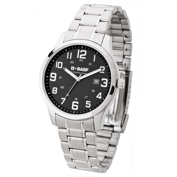 Men's Watch - Silver Bracelet Watch Photo