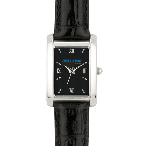 Ladies' - Watch With Black Dial, Metal Case, Mineral Crystal Photo