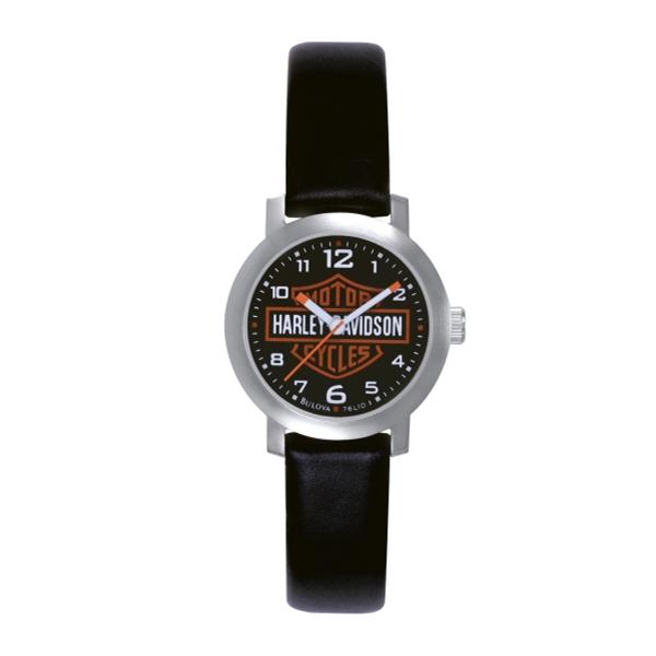 Bulova Women's Harley-Davidson Leather Strap Watch