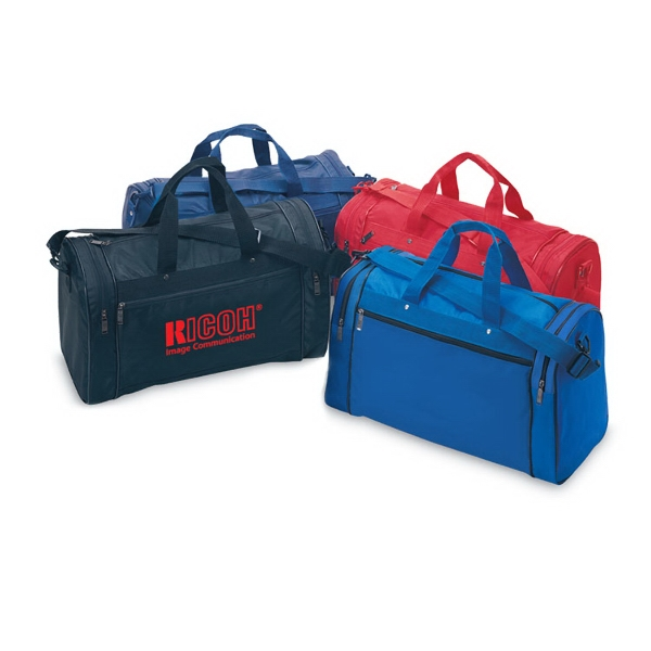 Deluxe Sports Bag with full color process