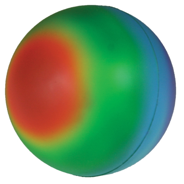 Squeezies (r) - Stress Ball With Rainbow Design Photo