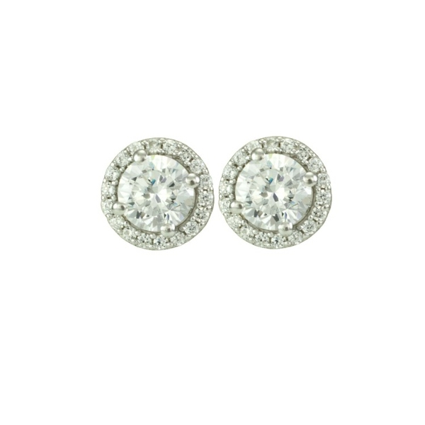 Antwerp Halo Earrings