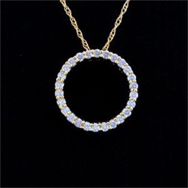 Antwerp Circle of Life Diamond Pendant