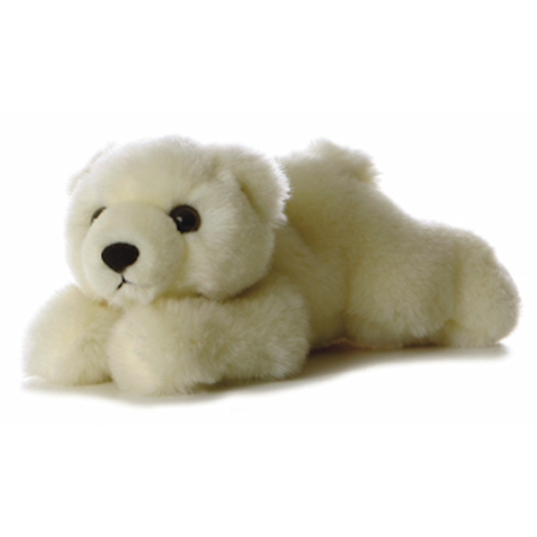 "8"" Lil' Slushy Polar Bear Cub"
