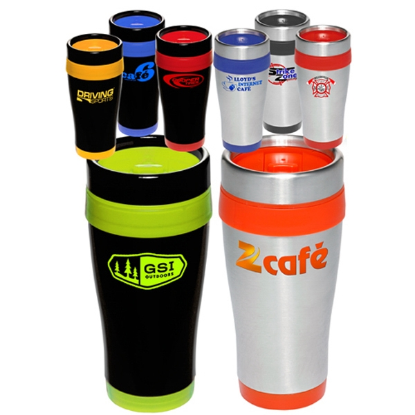 16 oz. Insulated Stainless Steel Travel