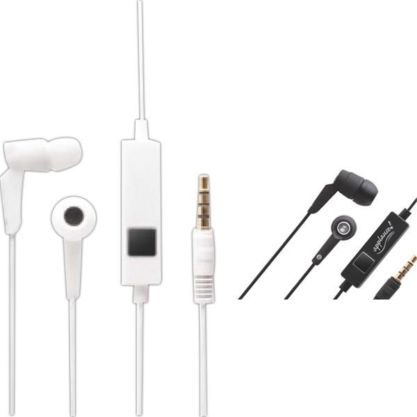 3.5mm Earphone/microphone With On/off Button Photo