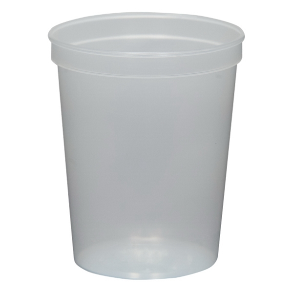 Natural Clear - 16oz Stadium Cup (squat) - 17 Opaque And 4 Translucent Colors Photo