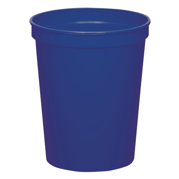 Blue - 16oz Stadium Cup (squat) - 17 Opaque And 4 Translucent Colors Photo