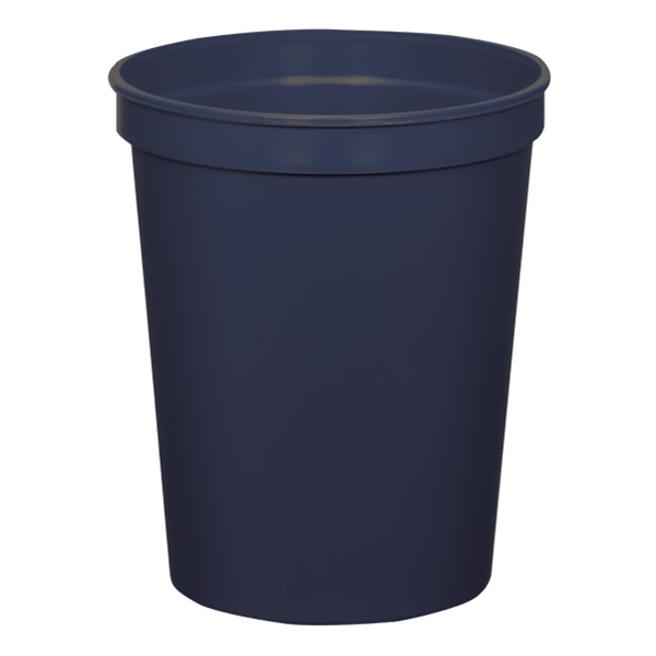 Navy - 16oz Stadium Cup (squat) - 17 Opaque And 4 Translucent Colors Photo