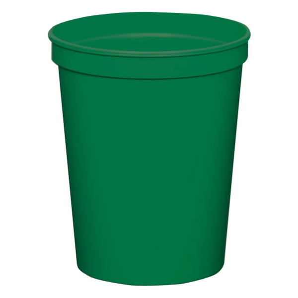 Green - 16oz Stadium Cup (squat) - 17 Opaque And 4 Translucent Colors Photo