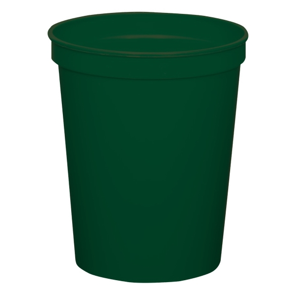 Forest Green - 16oz Stadium Cup (squat) - 17 Opaque And 4 Translucent Colors Photo