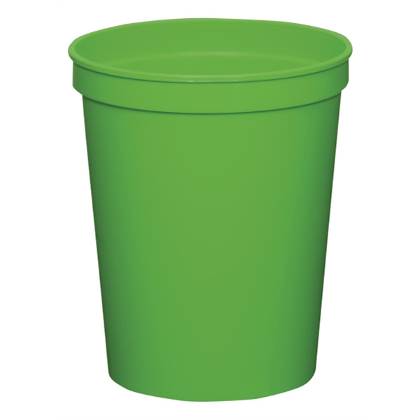 Lime Green - 16oz Stadium Cup (squat) - 17 Opaque And 4 Translucent Colors Photo