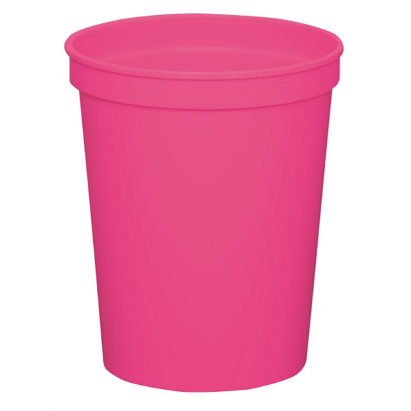 Hot Pink - 16oz Stadium Cup (squat) - 17 Opaque And 4 Translucent Colors Photo