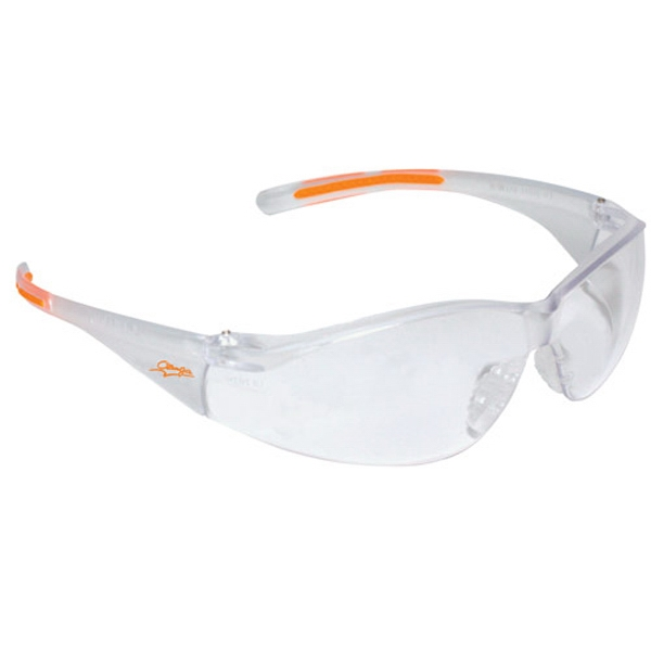 Clear Anti-fog Lens With Clear Frame Lightweight Wrap Around Safety Glasses Photo