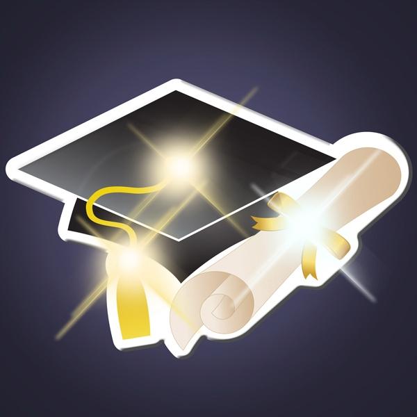 Grad Cap LED Pin