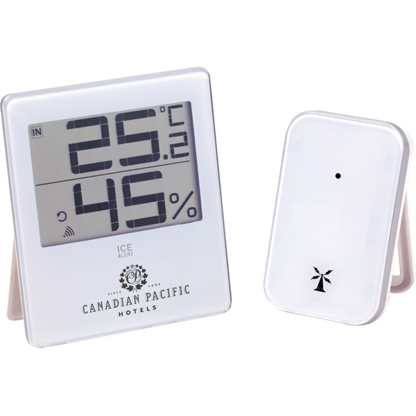 Atlas - Desktop Weather Station With Ice Alert And Large Lcd Display For Easy Reading Photo