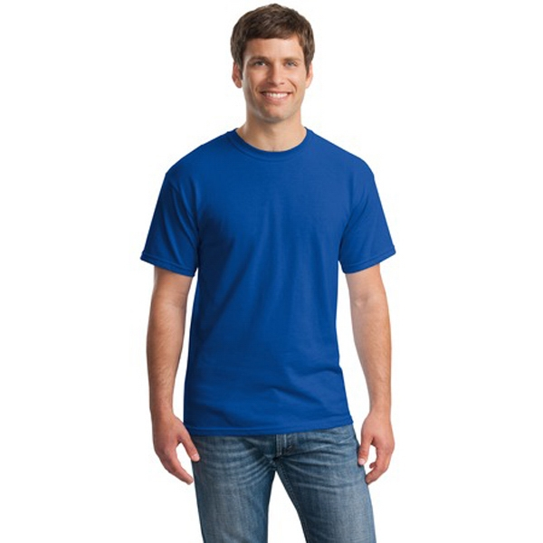 Gildan (r) - S -  X L Heathers - Adult Heavy 100% 5.3 Oz. Cotton T-shirt With Seamless Double-needle Collar Photo