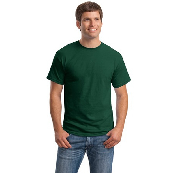 Hanes (r) - 2 X L White - Ecosmart (r) 50/50 Polyester/cotton T-shirt, Taped Neck And Shoulders Photo