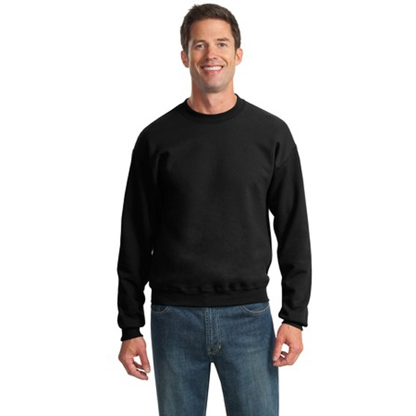 Jerzees (r) - 4 X L Heathers - Crewneck Sweat Shirt, 8-ounce, Cotton/poly Preshrunk Pill-resistant Fleece Photo