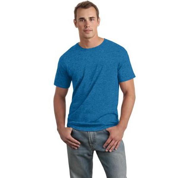Gildan (r) Softstyle(tm) - S -  X L Heathers - Young Men's Ring Spun Cotton T-shirt, 4.5 Ounce Photo