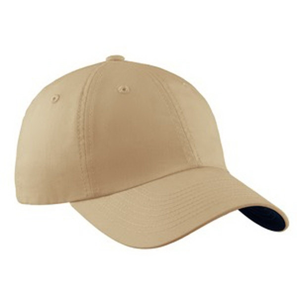 Port Authority (r) - Unstructured Brushed Canvas Cap With Contrasting Underbill Photo
