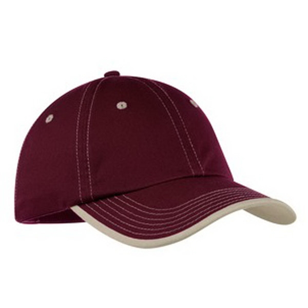 Port Authority (r) - Unstructured Vintage Washed Contrast Stitch Cotton Twill Cap Photo