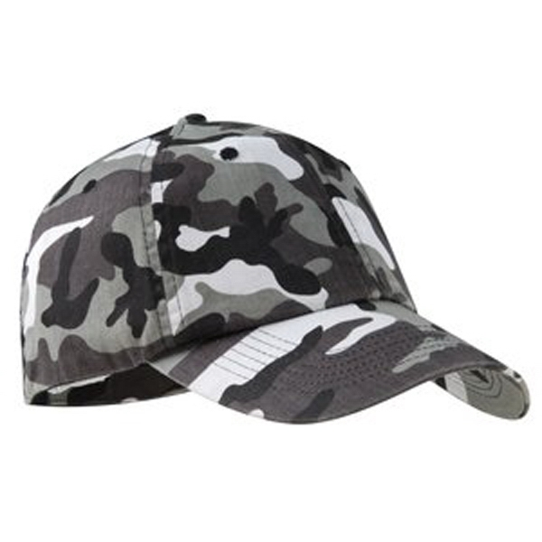 Port Authority (r) - Cotton Washed Twill Camouflage Cap, Unstructured Photo