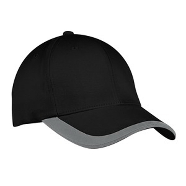 Port Authority (r) - Sandwich Bill Cap. A Contrasting Stripe On The Bill Adds A Sporty Touch Photo