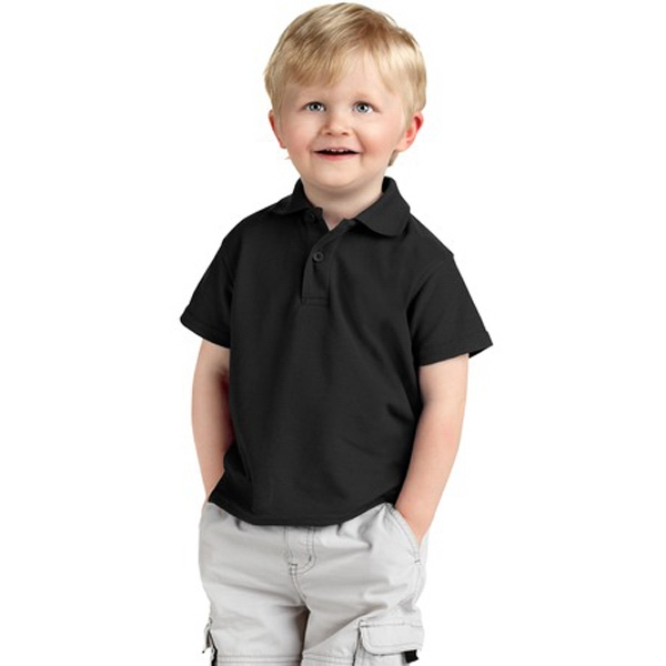 Precious Cargo (r) - Silk Touch (tm) Toddler Polo Shirt With Flat Knit Collar And Cuffs Photo