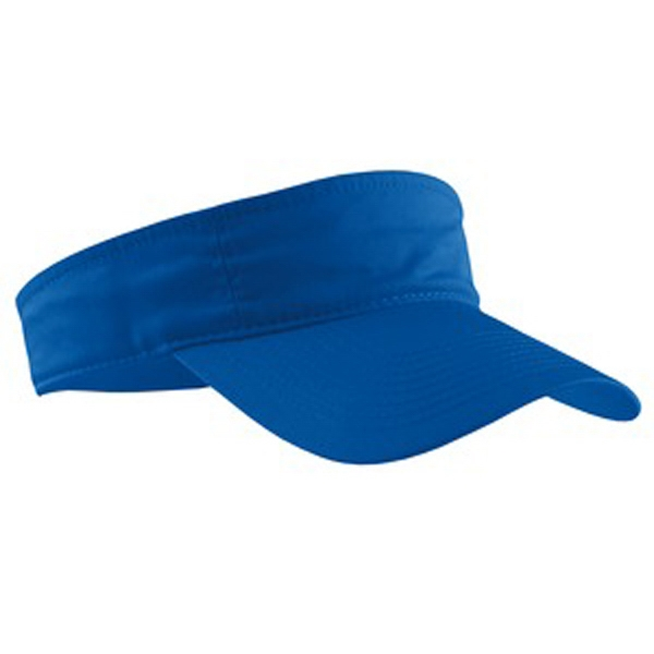 Port & Company (r) - Budget-friendly 3-panel Visor Has A Self-fabric Sweatband  Photo