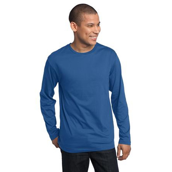 District Made (tm) - 3 X L Colors - Men's Long Sleeve Tee Photo