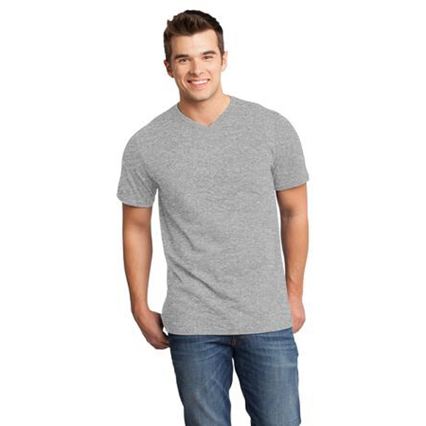 District (r) Very Important Tee (tm) -  X S- X L Colors - Young Men's 4.3 Oz. 100% Ring Spun Combed Cotton T-shirt Photo