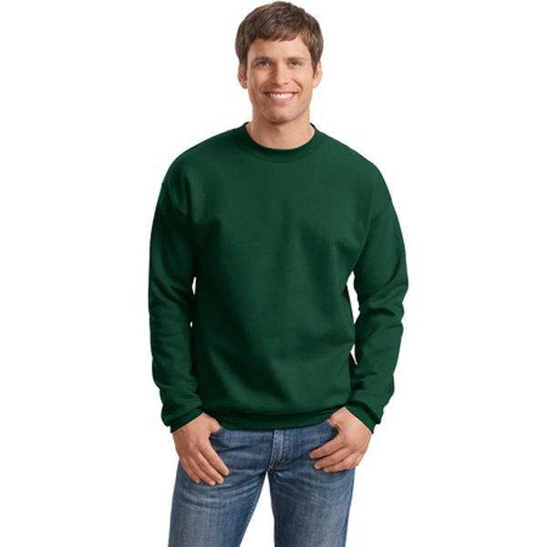 Hanes (r) Ultra Cotton (r) - S -  X L Heathers - Sweat Shirt, Cotton/polyester With Spandex In Collar Photo