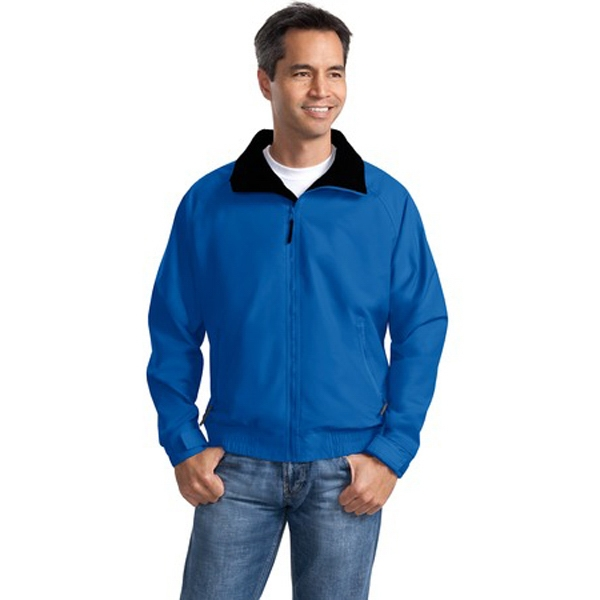 Port Authority (r) Competitor (tm) - 2 X L Colors - Lightweight And Water Resistant Teklon (r) Nylon Jacket With Zip Closures Photo