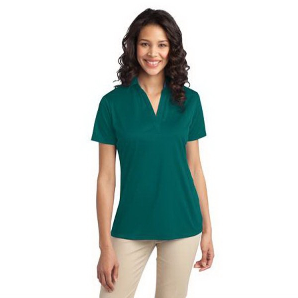 Port Authority (r) -  X S -  X L - Ladies Silk Touch Performance Polo Shirt Photo
