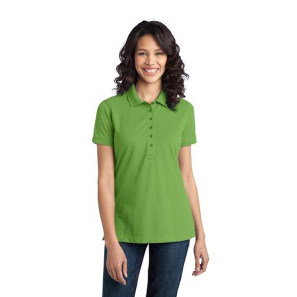 Port Authority (r) - 2 X L - Ladies' Stretch Pique Polo Shirt Photo