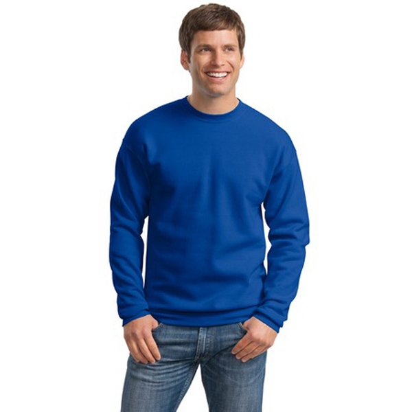 Hanes (r) Comfort Blend (r) Ecosmart (r) - 2 X L Heathers - Tag Free Crewneck Sweat Shirt, 7.8-ounce, 50/50 Cotton/poly Photo
