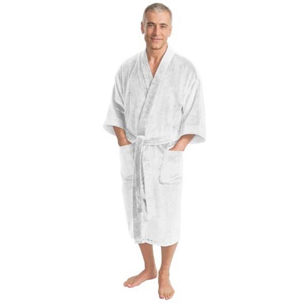 Port Authority (r) - Cotton Terry Velour Robe With Two Patch Pockets At The Hips Photo