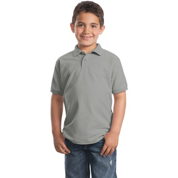 Port Authority (r) Silk Touch (tm) - Youth Size Poly/cotton Pique Polo Photo