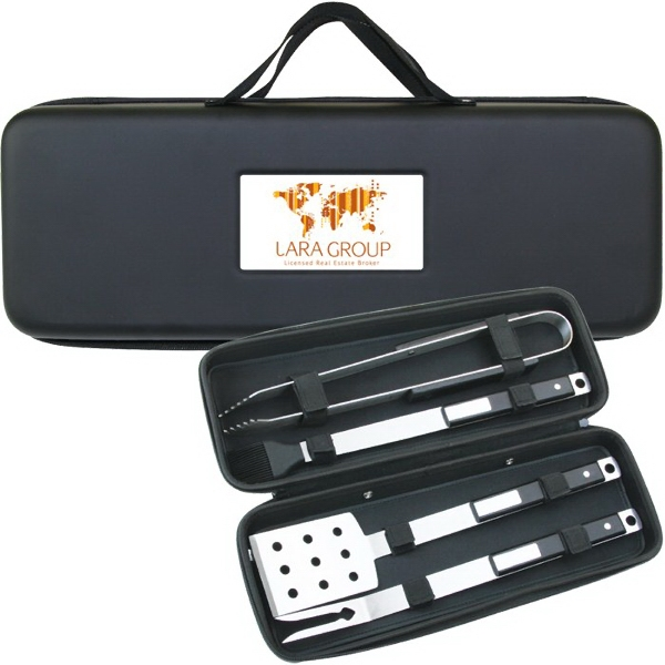 BBQ35 4 Pc Deluxe BBQ Set