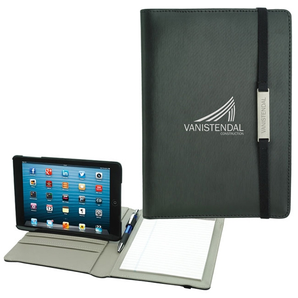 Rotating Case Tech Padfolio for Mini Tablet