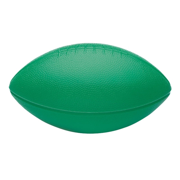 "Mini Plastic Football; Made In The U.s.a; 5 3/8"" W X 3"" H X 3"" D Photo"